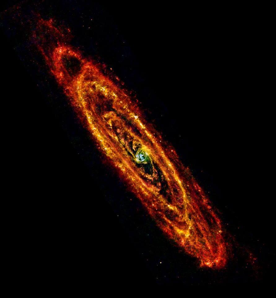 Galaxia Andromeda Rayos X