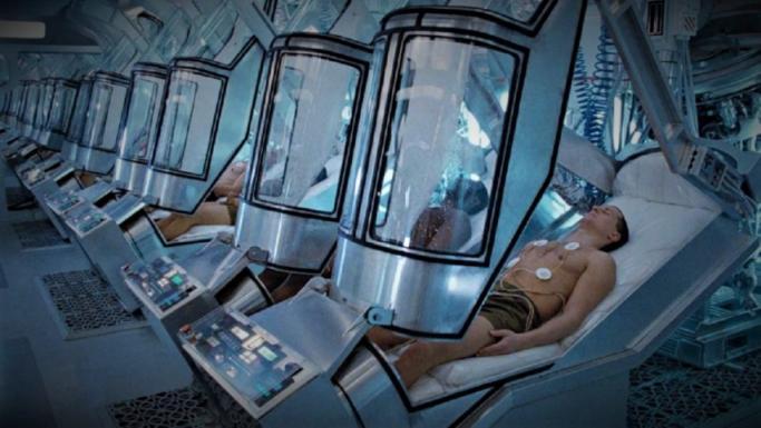 Cápsulas Humanos en Animación Suspendida