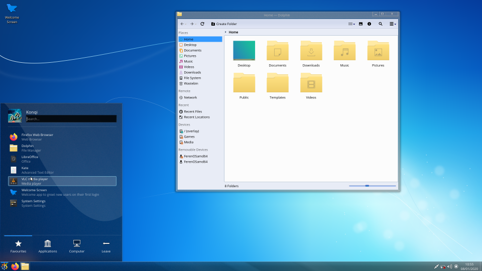Kde, plasma, Windows 7